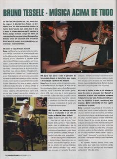 2010 - Entrevista na revista Modern Drummer