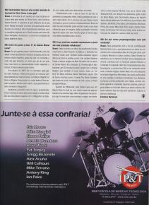 2010 - Entrevista na revista Modern Drummer parte 2 (2010)