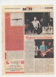 2002 - com a banda Comissário Silas
