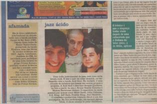 """2008 - Jornal """"Diário de Santa Maria"""