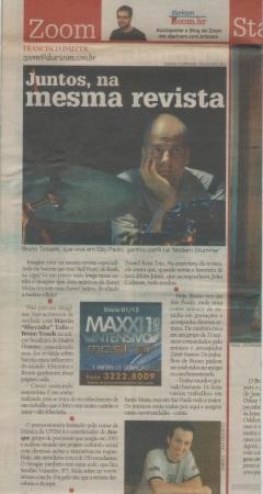 """2010 - Jornal """"Diário de Santa Maria"""