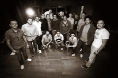 Gravação com a Speakin Jazz Big band