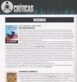 2012 - Resenha do DVD Na Montanha de MIchel Leme
