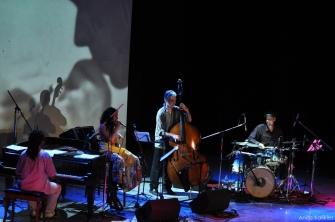 Com Ana Paula da Silva, Rogério Botter Maio e Fabio Leandro