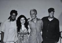 Fábio Leandro, Ana Paula da Silva, Rogério Botter Maio e Bruno Tessele (2010)